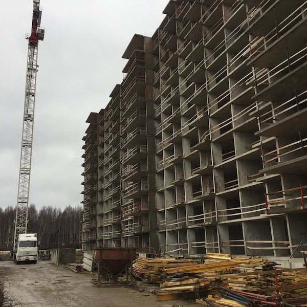ЖК Морошкино, ход строительства, стройка, комплекс, новостройка, жилой, новый